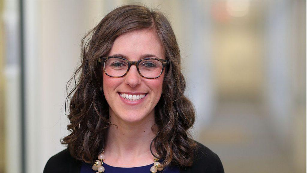 assistant professor Lindsey James